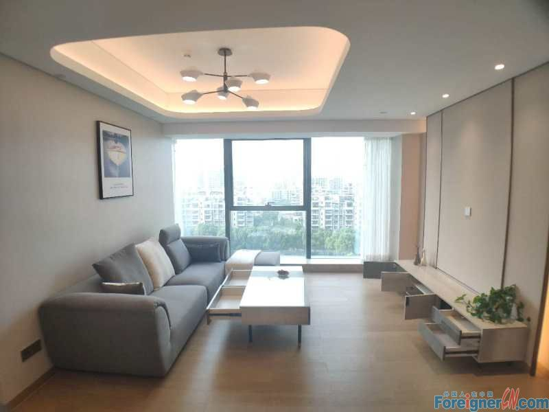 Geogeous!! Pinnacle Apartment- 2 brd and 2 bath;165sqm/ Nearby Times Square and Moon Bay/New decoration and good management department