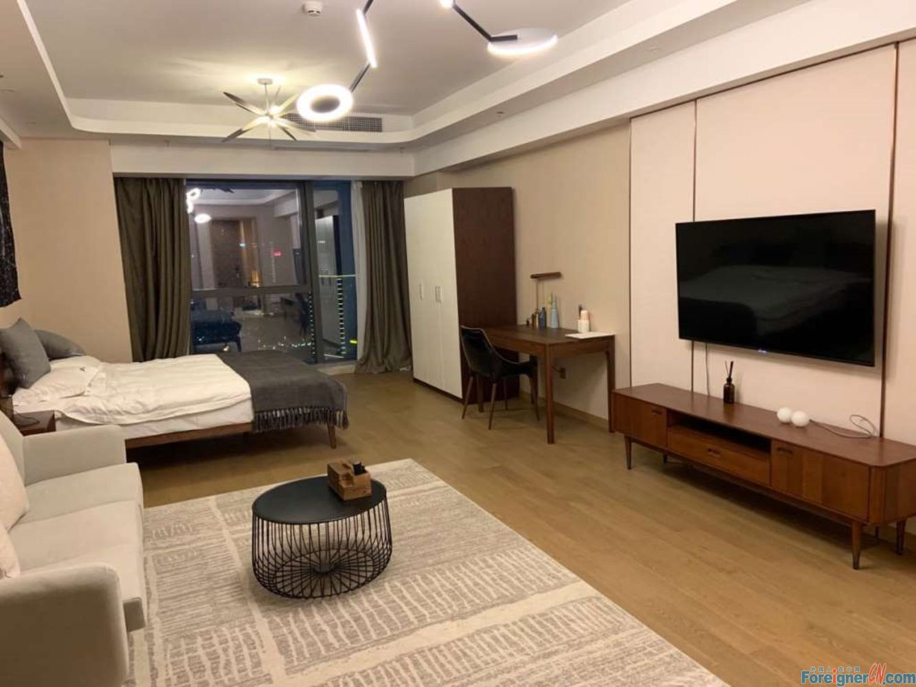 Where to live in Suzhou–floor heating–central AC-cozy decoration-near metro-brand new-convenient life