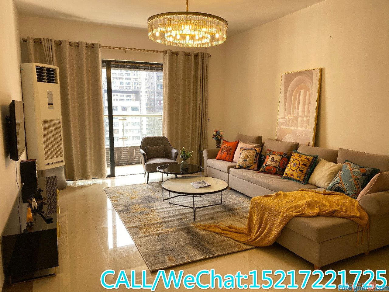 Nice and Modern/Clean and Bright/Large Kitchen/Fully Furnished/Good Price/Nice Owner.