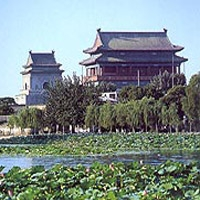 Beijing Bell Tower and Drum Tower